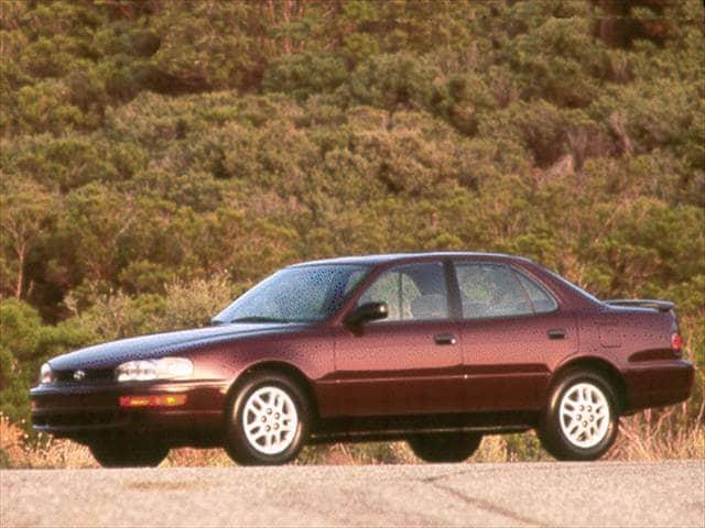 Most Popular Sedans of 1993 - 1993 Toyota Camry