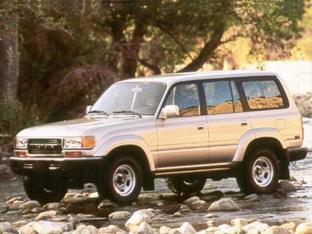 Top Consumer Rated SUVs of 1993 - 1993 Toyota Land Cruiser
