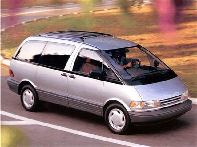 Vehicle History Report Free >> Used 1993 Toyota Previa LE Minivan Pricing | Kelley Blue Book