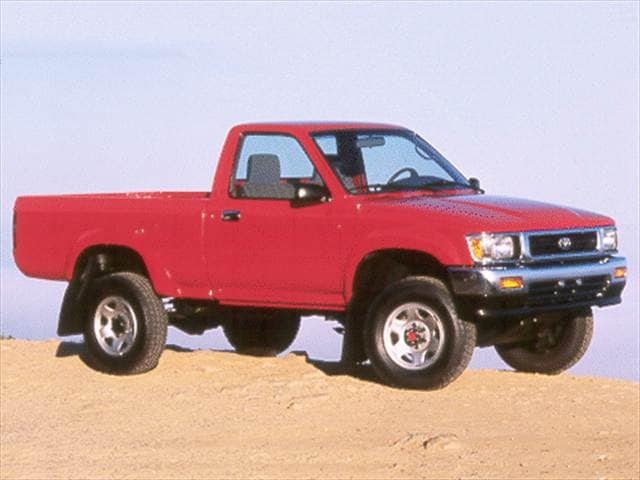 Most Fuel Efficient Trucks of 1993 - 1993 Toyota Regular Cab