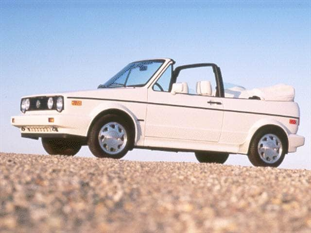 Most Fuel Efficient Convertibles of 1993 - 1993 Volkswagen Cabriolet