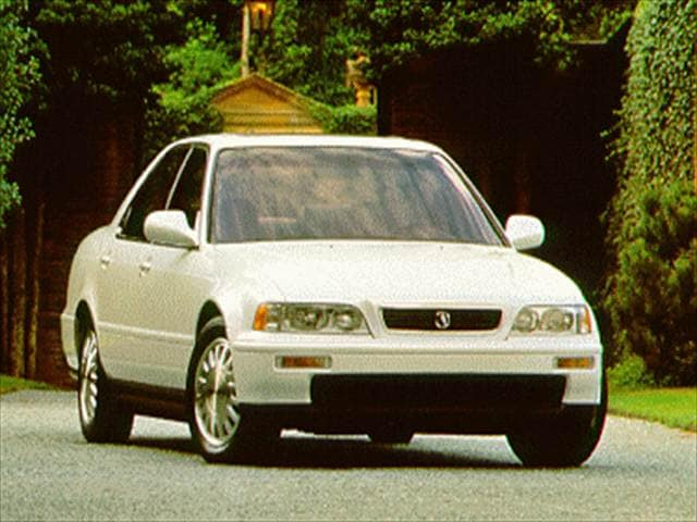 Most Fuel Efficient Luxury Vehicles of 1994 - 1994 Acura Legend