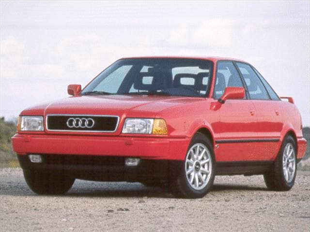 Most Fuel Efficient Luxury Vehicles of 1994 - 1994 Audi 90