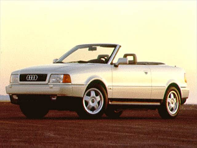 Most Fuel Efficient Luxury Vehicles of 1994 - 1994 Audi Cabriolet