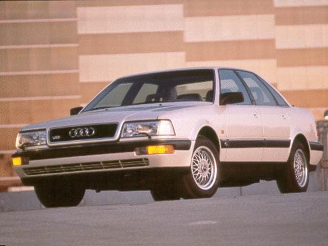 Highest Horsepower Sedans of 1994 - 1994 Audi Quattro