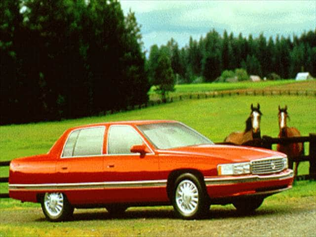 Highest Horsepower Sedans of 1994 - 1994 Cadillac DeVille