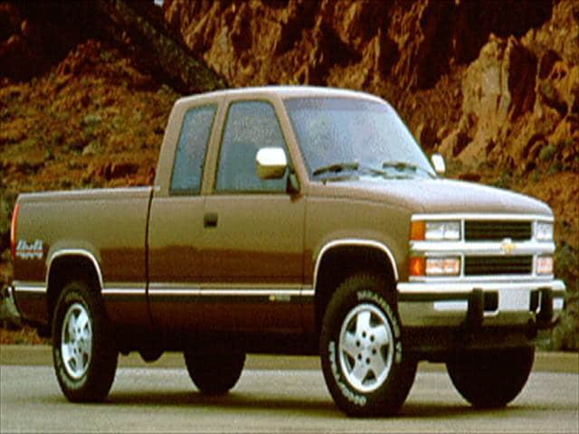 Most Popular Trucks of 1994 - 1994 Chevrolet 1500 Extended Cab