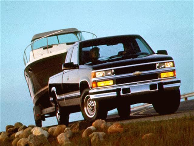 Highest Horsepower Trucks of 1994 - 1994 Chevrolet 2500 Extended Cab