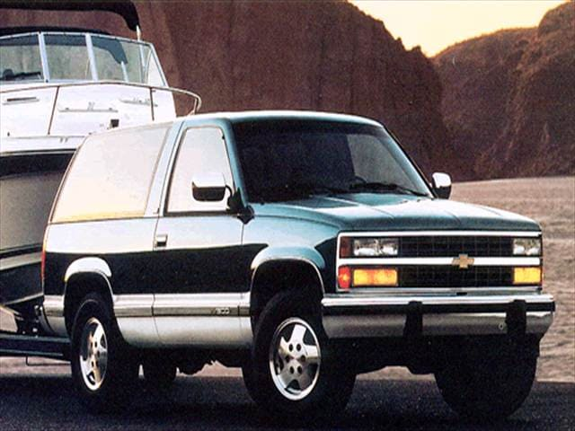 Highest Horsepower SUVs of 1994 - 1994 Chevrolet Blazer