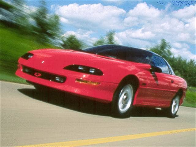 Most Popular Coupes of 1994 - 1994 Chevrolet Camaro