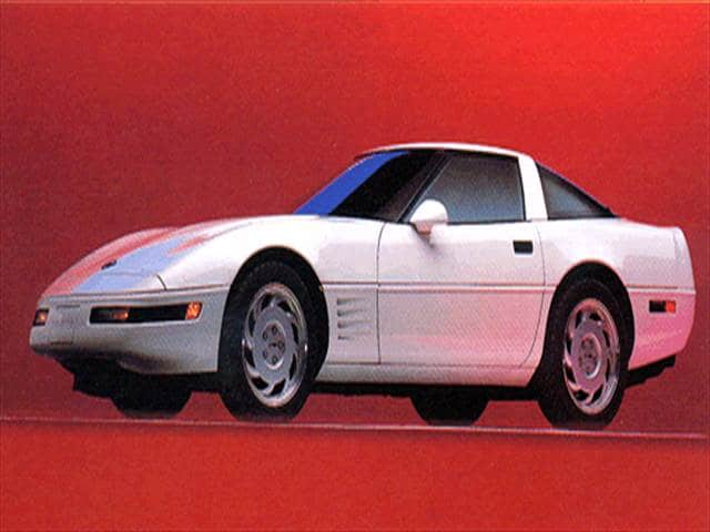 Top Consumer Rated Hatchbacks of 1994 - 1994 Chevrolet Corvette
