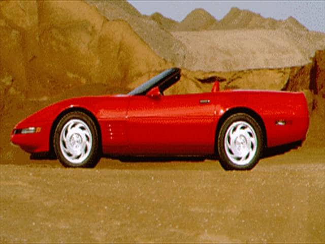 Highest Horsepower Convertibles of 1994 - 1994 Chevrolet Corvette