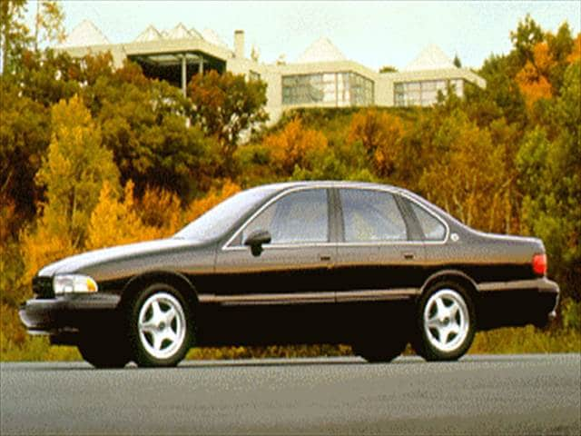 Most Popular Sedans of 1994 - 1994 Chevrolet Impala