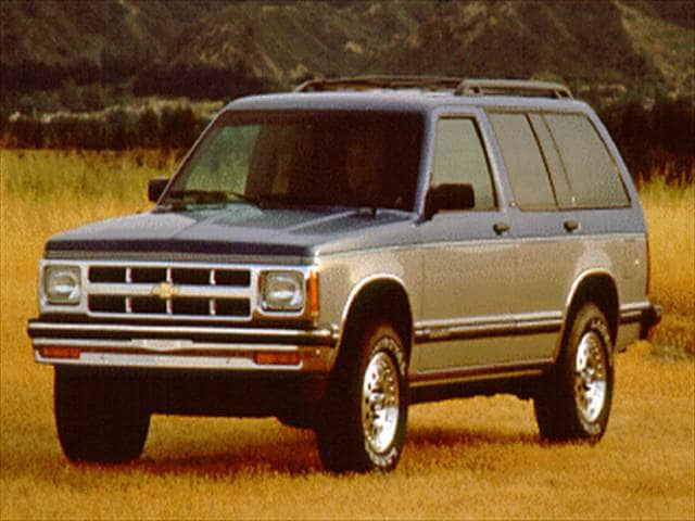 Most Fuel Efficient SUVs of 1994 - 1994 Chevrolet S10 Blazer