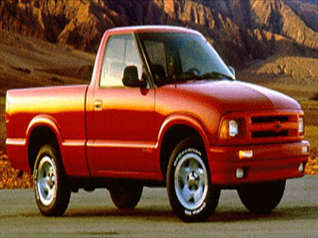 Most Fuel Efficient Trucks of 1994 - 1994 Chevrolet S10 Regular Cab