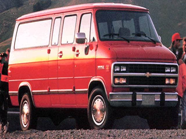 Highest Horsepower Vans/Minivans of 1994 - 1994 Chevrolet Sportvan G30