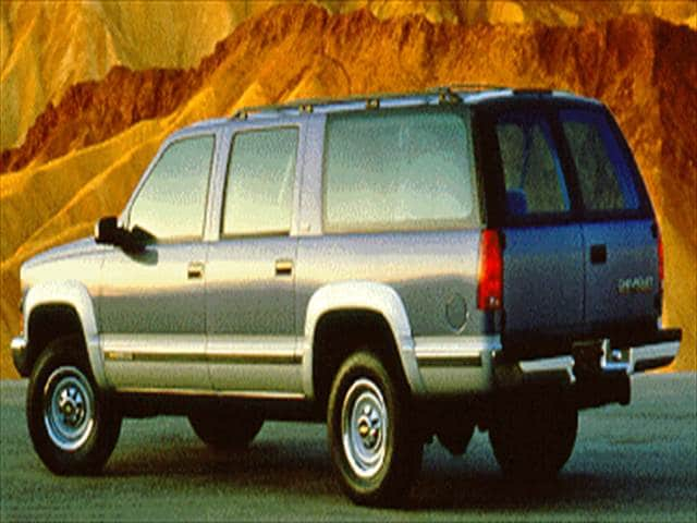 Top Consumer Rated SUVs of 1994 - 1994 Chevrolet Suburban 2500