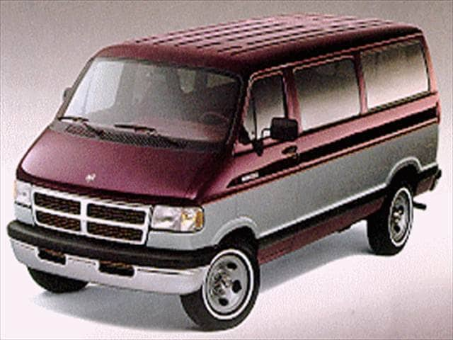 Highest Horsepower Vans/Minivans of 1994 - 1994 Dodge Ram Wagon B250