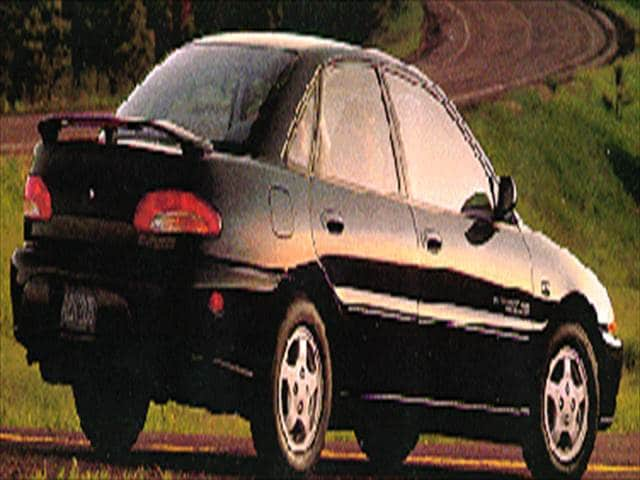 Most Fuel Efficient Coupes of 1994 - 1994 Eagle Summit