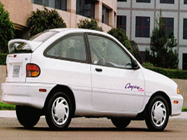 Most Fuel Efficient Coupes of 1994 - 1994 Ford Aspire