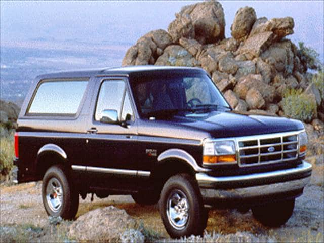Top Consumer Rated SUVs of 1994 - 1994 Ford Bronco
