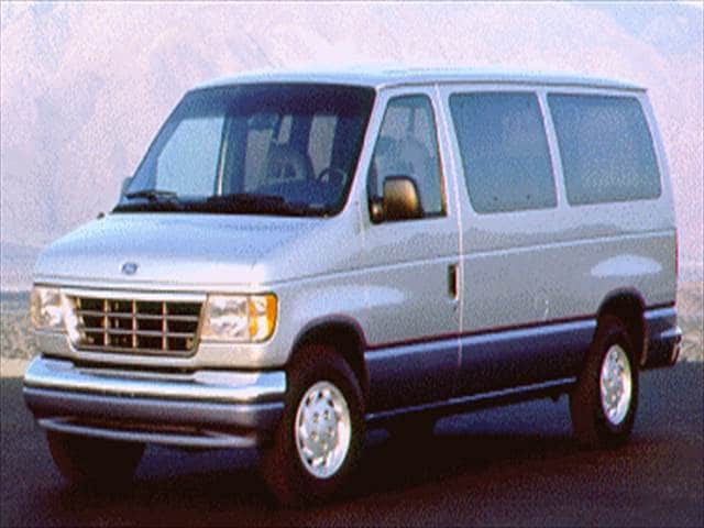 Top Consumer Rated Vans/Minivans of 1994 - 1994 Ford Club Wagon