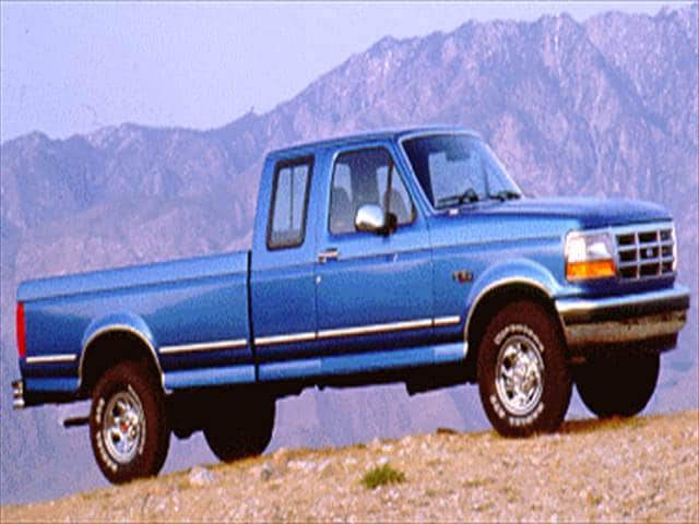 Most Popular Trucks of 1994 - 1994 Ford F150 Super Cab