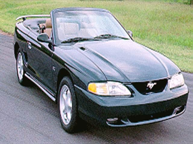 Most Fuel Efficient Convertibles of 1994 - 1994 Ford Mustang