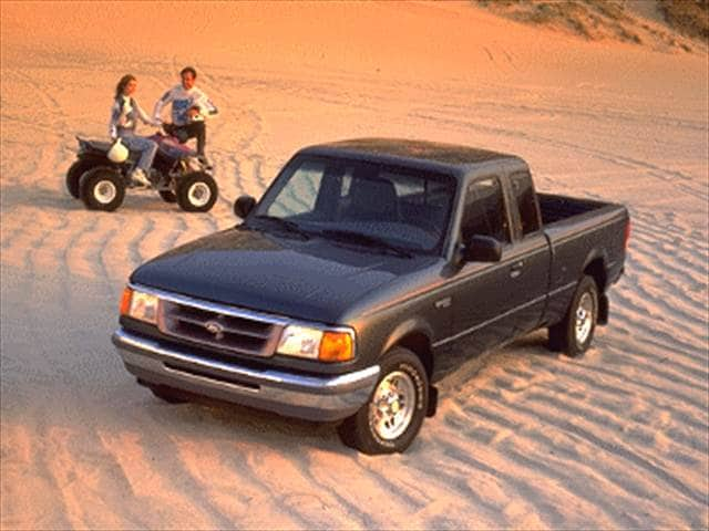 Most Fuel Efficient Trucks of 1994 - 1994 Ford Ranger Super Cab