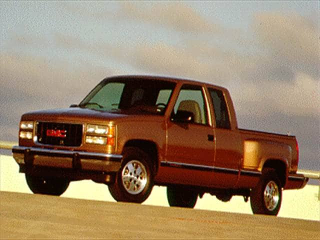 Top Consumer Rated Trucks of 1994 - 1994 GMC 1500 Club Coupe