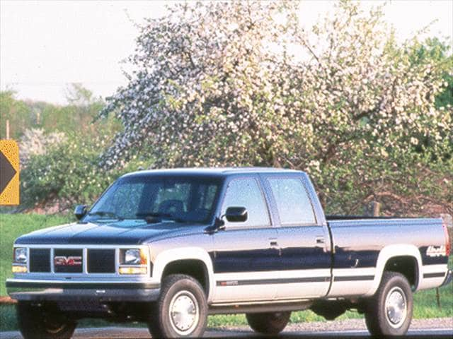 Highest Horsepower Trucks of 1994 - 1994 GMC 3500 Crew Cab