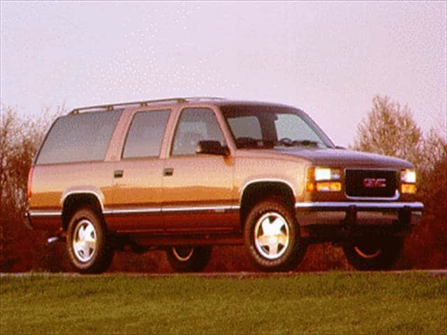 Top Consumer Rated SUVs of 1994 - 1994 GMC Suburban 1500