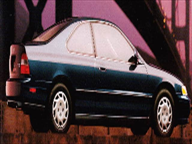 Most Popular Coupes of 1994 - 1994 Honda Accord