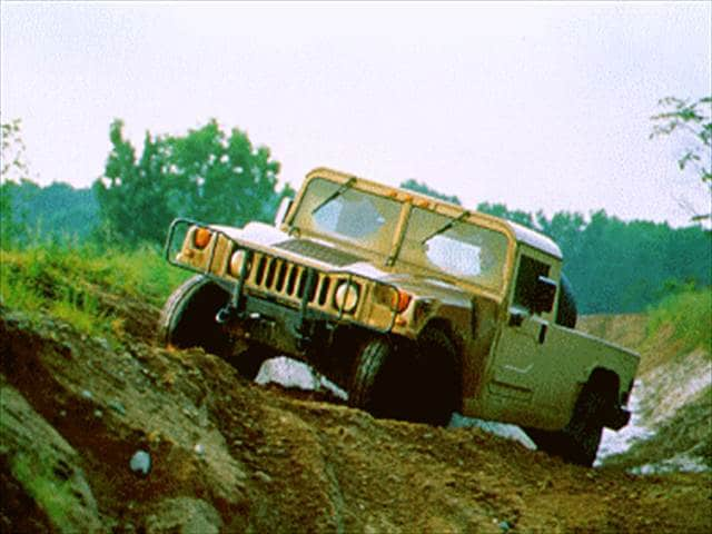 Top Consumer Rated SUVs of 1994 - 1994 HUMMER H1