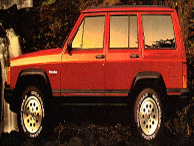 Most Popular SUVs of 1994 - 1994 Jeep Cherokee