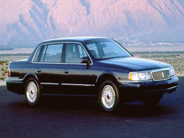 Most Fuel Efficient Luxury Vehicles of 1994 - 1994 Lincoln Continental