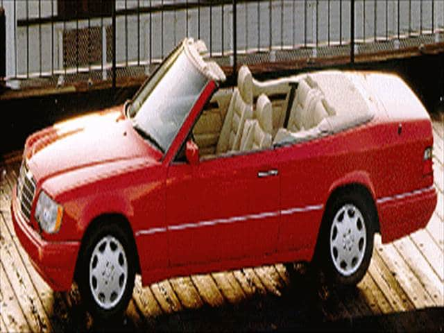 Top Consumer Rated Convertibles of 1994 - 1994 Mercedes-Benz E-Class