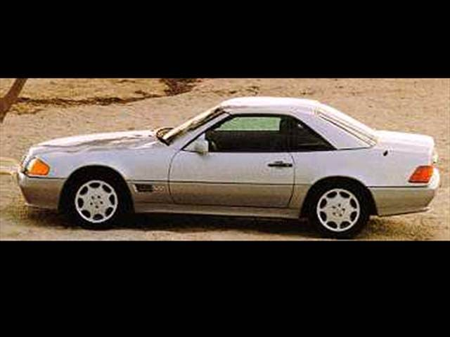 Highest Horsepower Luxury Vehicles of 1994 - 1994 Mercedes-Benz SL-Class