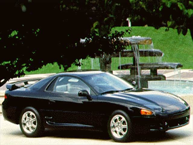 Top Consumer Rated Hatchbacks of 1994 - 1994 Mitsubishi 3000GT