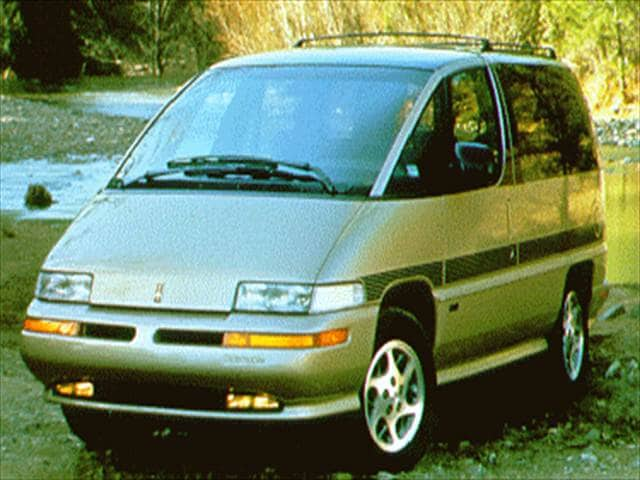 Most Fuel Efficient Vans/Minivans of 1994 - 1994 Oldsmobile Silhouette