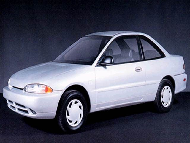 Most Fuel Efficient Coupes of 1994 - 1994 Plymouth Colt