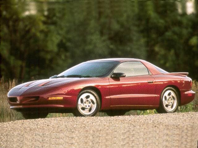 Top Consumer Rated Hatchbacks of 1994 - 1994 Pontiac Firebird