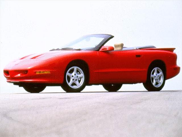 Most Fuel Efficient Convertibles of 1994 - 1994 Pontiac Firebird