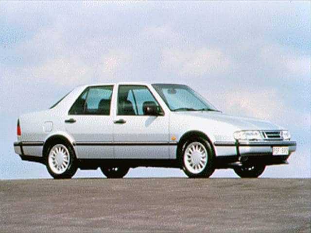 Most Fuel Efficient Luxury Vehicles of 1994 - 1994 Saab 9000