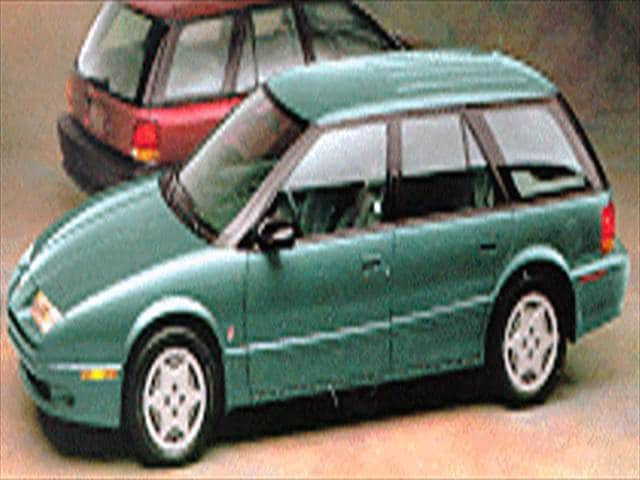Most Fuel Efficient Wagons of 1994 - 1994 Saturn S-Series