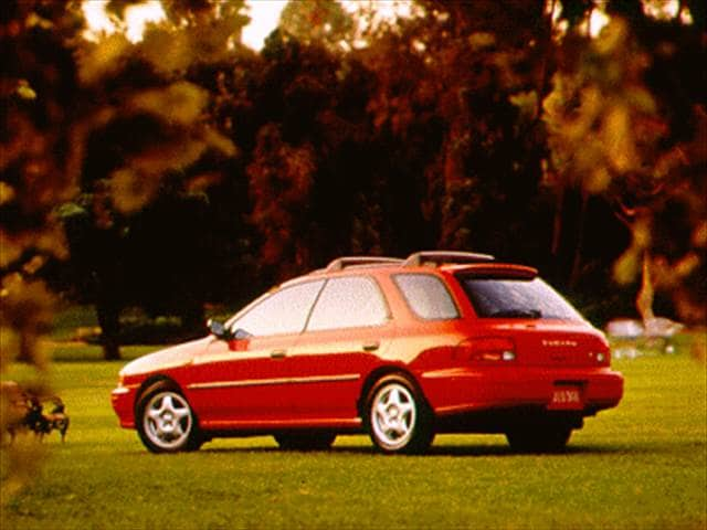 Most Fuel Efficient Wagons of 1994 - 1994 Subaru Impreza