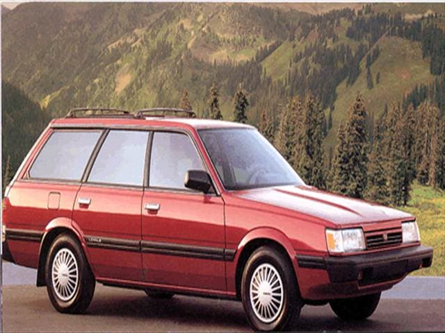 Most Fuel Efficient Wagons of 1994 - 1994 Subaru Loyale