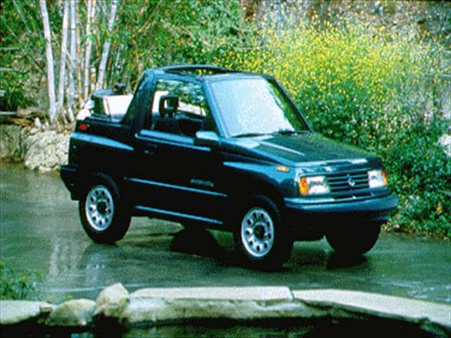 Most Fuel Efficient SUVs of 1994 - 1994 Suzuki Sidekick