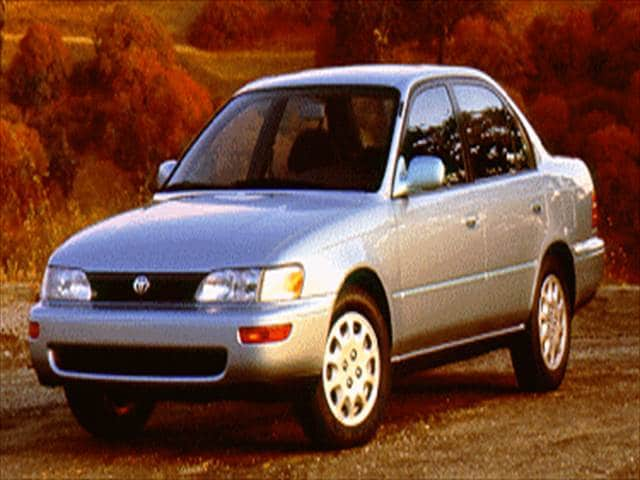 Most Popular Sedans of 1994 - 1994 Toyota Corolla