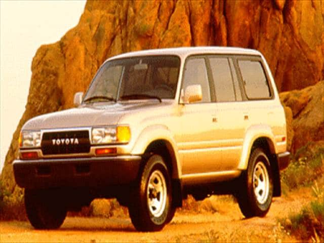Top Consumer Rated SUVs of 1994 - 1994 Toyota Land Cruiser